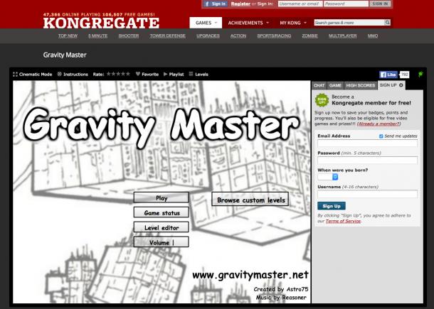 Gravity Master